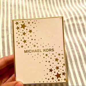 Michael Kors Other - Michael Kors White & Gold Gift Box